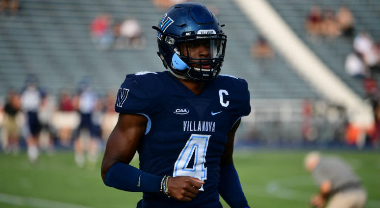 Villanova senior safety Rob Rolle