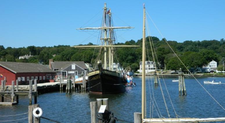 Mystic Seaport whaler