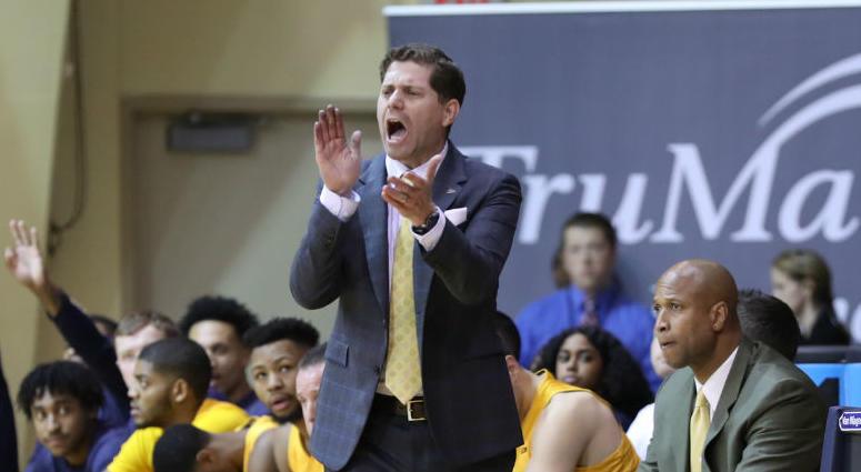 Drexel head coach Zach Spiker