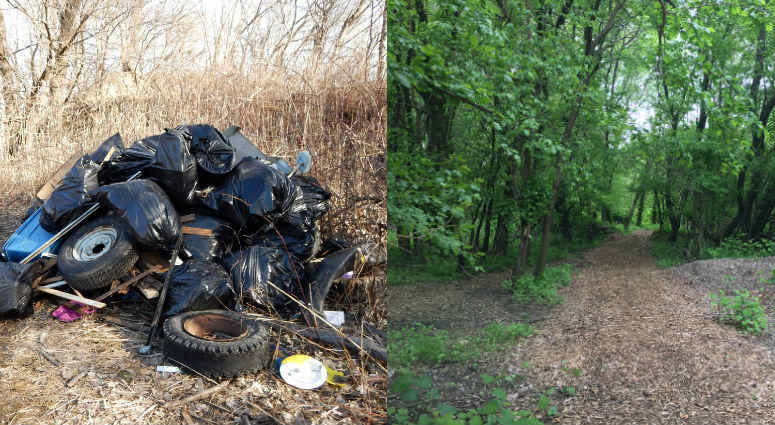 What had become a 35-acre dump site along the Delaware River in Camden's Cramer Hill section is now a nature preserve.