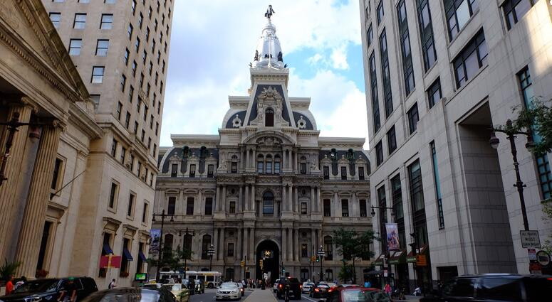 Philadelphia City Hall.