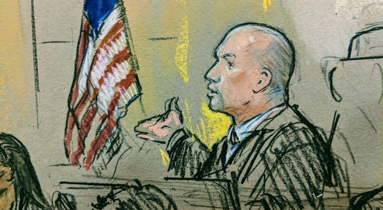 Sketch of Judge Timothy J. Kelly