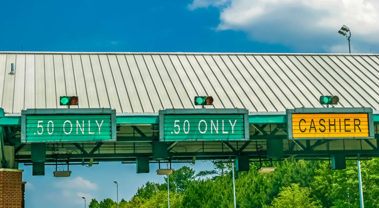 Garden State Parkway eliminating toll baskets   KYW