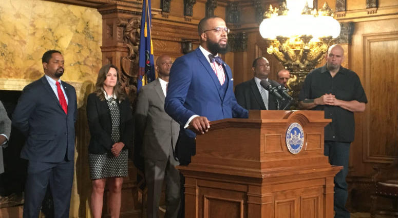 Pennsylvania's lieutenant governor appointed Brandon Flood, a political insider in Harrisburg and a former inmate, to be new secretary of the Board of Pardons.