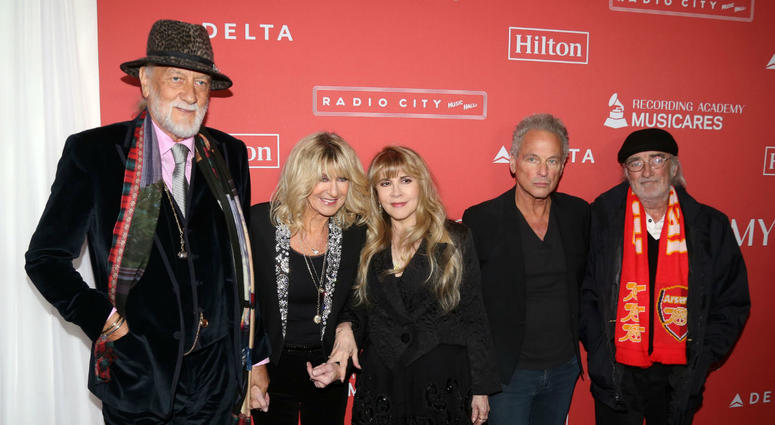 Mick Fleetwood, Christine McVie, Stevie Nicks, Lindsey Buckingham and John McVie of Fleetwood Mac, as the British-American band has parted ways with Buckingham, the musician who wrote and sung on tracks including Tusk and Go Your Own Way.