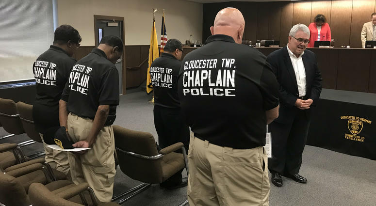 c33d136f034 Gloucester Township Police Department using faith to better serve ...