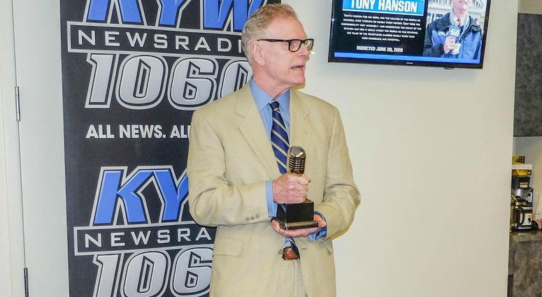 KYW Newsradio Hall of Famer Tony Hanson