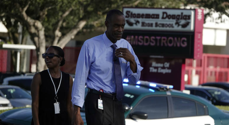 First day of school in Broward opens with heavy security presence