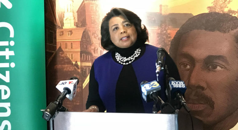Patricia Wilson Aden, president and CEO of the African American Museum in Philadelphia