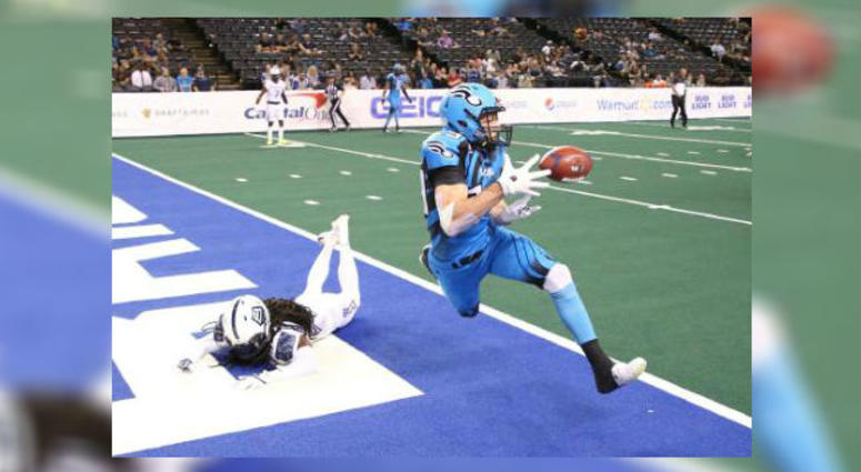 Philadelphia Soul wide receiver Aaron Wascha caught three touchdowns in last week's win in Baltimore.