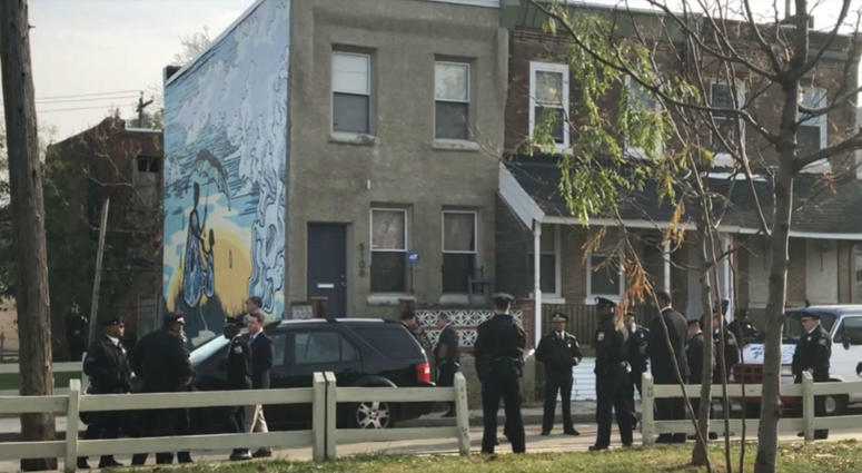 Four people were found killed in the basement of a home near 51st Street and Baltimore Avenue.