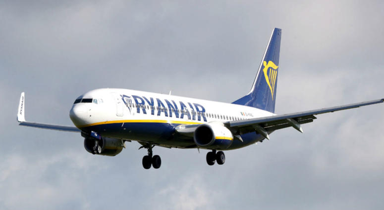 File photo dated 25/08/16 of a Ryanair plane.