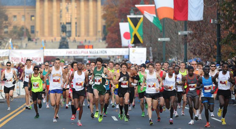 Philadelphia Marathon 2011