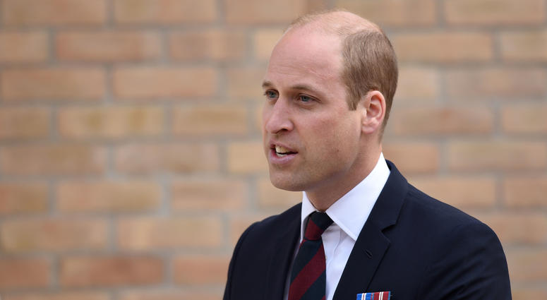 The Duke of Cambridge attends the official handover of the newly built Defence and National Rehabilitation Centre (DNRC) at The Stanford Hall Estate, Nottinghamshire, to the nation.