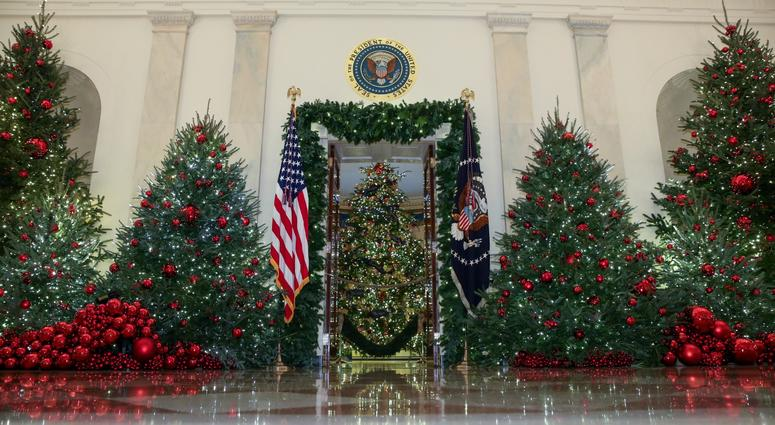Melania Trump Unveils White House Christmas Decorations Kyw
