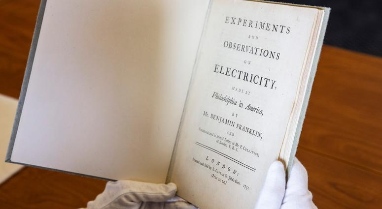 Rarely seen objects from inventors of the past were taken out of storage for inventors of today to see at the Franklin Institute.