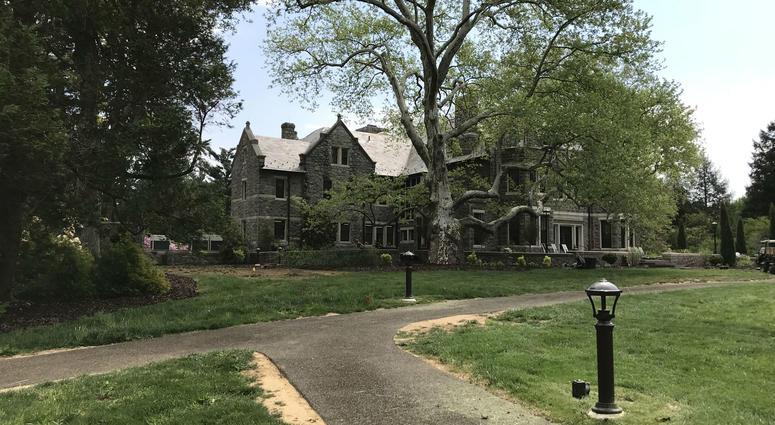Stoneleigh is a 42-acre property near the Villanova Law School.