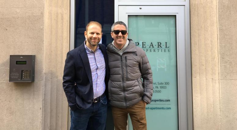 Steven Cook (left) and Michael Solomonov