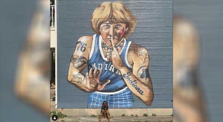 Larry Bird mural