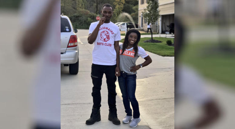 Simone Biles' brother charged with triple murder