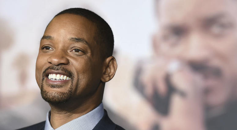 """In this Dec. 13, 2017, file photo, Will Smith arrives at the U.S. premiere of """"Bright"""" in Los Angeles."""