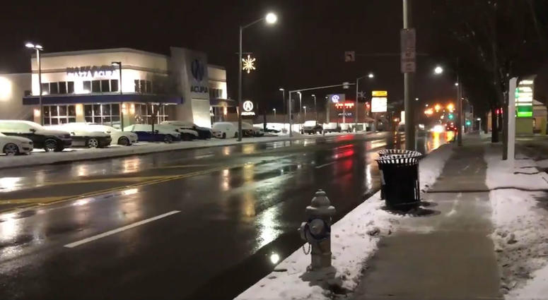As winter weather moves in, roads and rails holding up