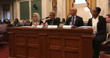 Word that nearly two dozen Philadelphia schools were getting classroom air conditioners came during the district's budget hearings before City Council.