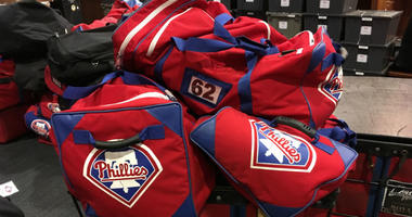 The Phillies' equipment truck departs Friday around noon for spring training in Florida.