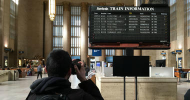 Amtrak is taking down the beloved but aging schedule board at 30th Street Station this weekend. But what's next for the board?
