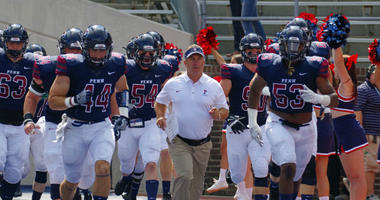 Ray Priore enters his fourth season as the head football coach at the University of Pennsylvania.