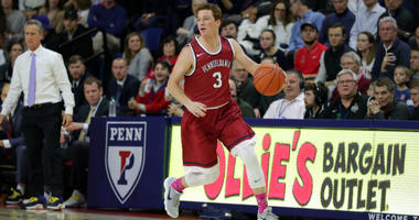 Senior guard Jake Silpe is averaging 6.7 ppg this season for Penn.
