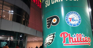 There was a buzz down at the Wells Fargo Center Thursday night, and not just because the Flyers entered their home game on an eight game winning streak.