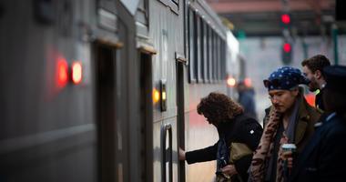 Gov. Phil Murphy signed reform legislation for NJ Transit on Dec. 20, 2018 at the Summit Train Station in Summit, N.J.