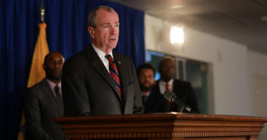 Governor Murphy holds a press conference with advocates, community and faith leaders on impact of marijuana legalization and expungement legislation in Trenton.