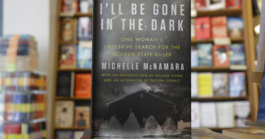 "copies of the books ""I'll Be Gone in the Dark: One Woman's Obsessive Search for the Golden State Killer"" by Michelle McNamara"