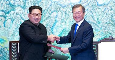 Kim Jong Un / Moon Jae-in