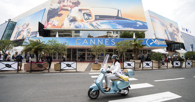 A view of the Palais des Festivals at the 71st international film festival, Cannes.