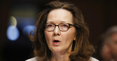 CIA nominee Gina Haspel testifies during a confirmation hearing of the Senate Intelligence Committee on Capitol Hill in Washington.