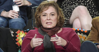 """Roseanne Barr participates in the """"Roseanne"""" panel during the Disney/ABC Television Critics Association Winter Press Tour in January."""