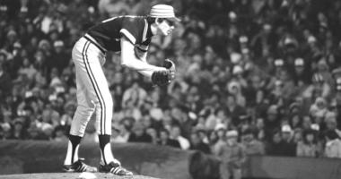 In this Oct. 10, 1979, file photo, Pittsburgh Pirates pitcher Bruce Kison delivers to a Baltimore Orioles batter during Game 1 of the baseball World Series, in Baltimore, Md.