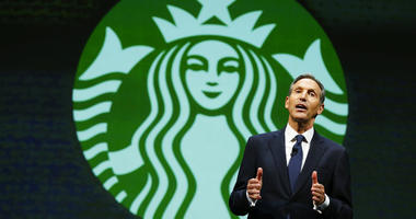 Starbucks Corp. says Howard Schultz is stepping down executive chairman later this month.