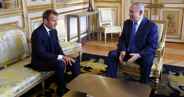Netanyahu is meeting France's President Macron as part of his European tour, in an effort to rally support from allies over Iran.