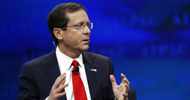 Israeli Opposition Leader and Zionist Union Chairman Isaac Herzog speaks at the AIPAC Policy Conference 2017 in Washington.