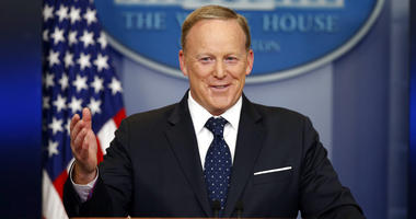 Former White House press secretary Sean Spicer is working on a television interview show in which he banters with guests about a variety of topics.