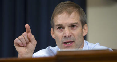 U.S. Rep. Jim Jordan, R-Ohio, on Capitol Hill. Two men who were wrestlers at Ohio State University in the '90s say Jordan isn't being truthful when he says he wasn't aware of allegations team doctor Richard Strauss was groping male wrestlers.