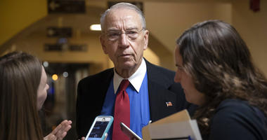In this May 24, 2018, file photo, Senate Judiciary Committee Chairman Chuck Grassley, R-Iowa, speaks to reporters on Capitol Hill in Washington.