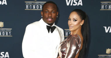 In this Feb. 4, 2017 file photo, LeSean McCoy of the Buffalo Bills, left, and Delicia Cordon arrive at the 6th annual NFL Honors at the Wortham Center in Houston.