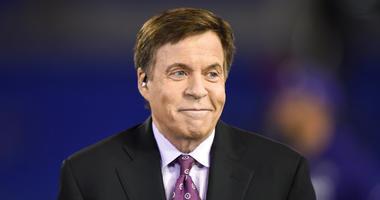 NBC sportscaster Bob Costas