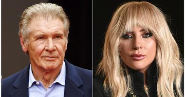 Harrison Ford and Lady Gaga