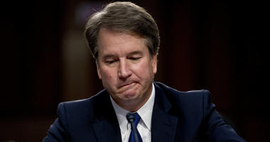 President Donald Trump's Supreme Court nominee, Brett Kavanaugh becomes emotional as he gives his opening statement before the Senate Judiciary Committee on Capitol Hill, Sept. 4, 2018, to begin his confirmation to replace retired Justice Anthony Kennedy.